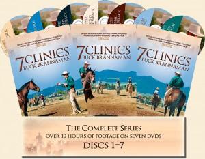 7 Clinics with Buck Brannaman DVD Series