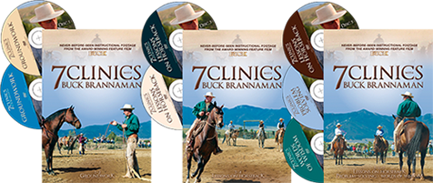 7 Clinicis with Buck Brannaman