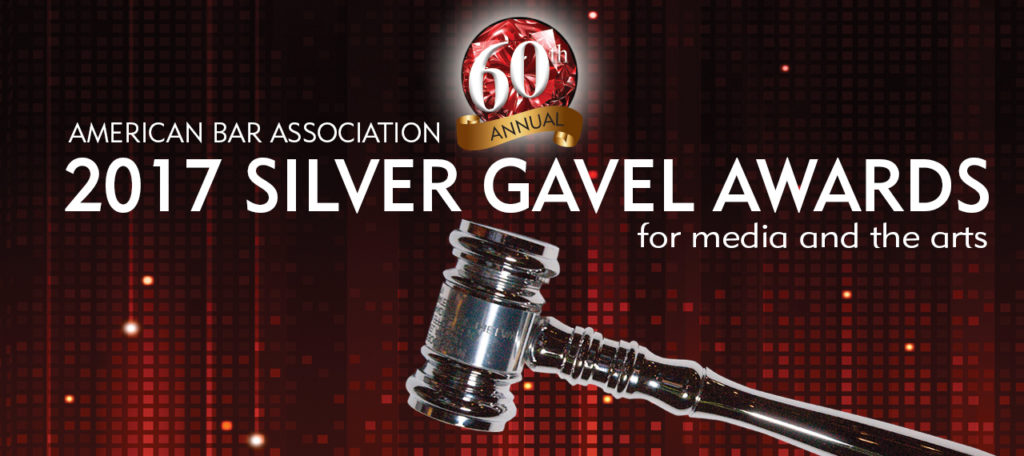 Trapped - recipient of 2017 Silver Gavel Awards for Media and the Arts